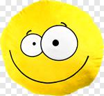Сlipart fluf pillow smile face smily photo cut out BillionPhotos