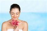 Сlipart Women Spa Treatment Human Face Single Flower Beautiful   BillionPhotos
