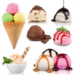 Сlipart icecream ice cream isolated strawberry   BillionPhotos