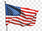 Сlipart American Flag Flag American Culture USA Isolated photo cut out BillionPhotos