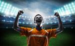 Сlipart soccer triumphant winner brazilian man south america   BillionPhotos