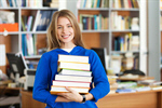 Сlipart Student College Student Library Book Teenager photo  BillionPhotos