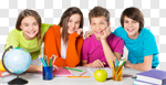 Сlipart classroom group youngster educational friends photo cut out BillionPhotos