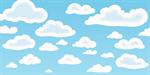 Сlipart Cloud Cloudscape Seamless Sky Backgrounds vector  BillionPhotos