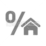 Сlipart House Built Structure Real Estate Apartment Building Activity vector icon cut out BillionPhotos