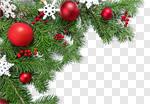 Сlipart Christmas decoration wreath border new card photo cut out BillionPhotos