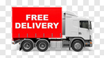 Сlipart Delivering Freedom Shipping Truck Freight Transportation 3d cut out BillionPhotos