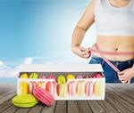 Сlipart Fat woman measuring her stomach fat overweight diet stomach   BillionPhotos