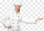 Сlipart Chef Baker Women Chef's Hat Female photo cut out BillionPhotos