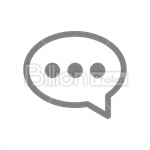 Сlipart chat text bubble message icon speech bubble speech balloon vector icon cut out BillionPhotos