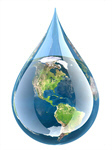 Сlipart Water Drop Earth Globe Homegrown Produce 3d  BillionPhotos