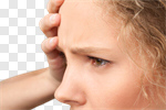 Сlipart Emotional Stress Headache Physical Pressure Illness Pain photo cut out BillionPhotos