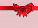 Сlipart ribbon bow gold xmas gift   BillionPhotos