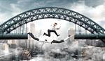 Сlipart teamwork gap business jump outdoor   BillionPhotos