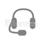 Сlipart Headphones Sound Audio Equipment Headset vector icon cut out BillionPhotos