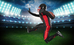 Сlipart American Football Football Player Athlete Running Back Running   BillionPhotos