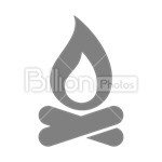 Сlipart fire flame heat warm temperature vector icon cut out BillionPhotos