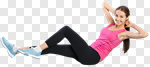Сlipart cardio monitor workout girl health photo cut out BillionPhotos
