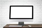 Сlipart desktop desk monitor blank screen   BillionPhotos