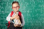 Сlipart book to school kid backpack blackboard smile   BillionPhotos