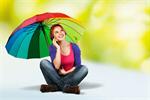 Сlipart Multi Colored Umbrella Descriptive Color Women Mobile Phone Telephone   BillionPhotos