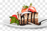 Сlipart cake dessert slice pie cream photo cut out BillionPhotos