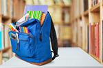 Сlipart school backpack back full background   BillionPhotos