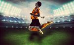 Сlipart soccer brazil heading ball brasil   BillionPhotos