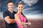 Сlipart fit fitness woman sports man   BillionPhotos