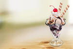 Сlipart Ice Cream Sundae Ice Cream Chocolate Hot Fudge Sundae Dessert   BillionPhotos