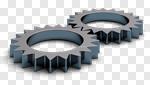 Сlipart Gear Efficiency Complexity Cooperation Machine Part 3d cut out BillionPhotos