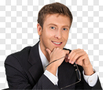 Сlipart Business Businessman People Office Men photo cut out BillionPhotos