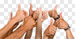 Сlipart Thumbs Up Agreement Human Thumb Group Of People Innovation photo cut out BillionPhotos