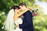 Сlipart Wedding Bride Groom Couple Outdoors   BillionPhotos