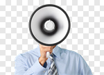 Сlipart Megaphone Using Voice Advertisement Bullhorn Public Speaker photo cut out BillionPhotos