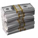 Сlipart Currency Stack Dollar One Hundred Dollar Bill Paper Currency photo  BillionPhotos