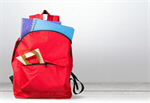 Сlipart school backpack back full background   BillionPhotos