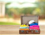 Сlipart traveling bag tourist full case packing   BillionPhotos