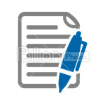 Сlipart Paper Text Folded Write Writing vector icon cut out BillionPhotos
