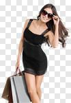 Сlipart fashion model street summer smiling photo cut out BillionPhotos