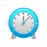 Сlipart Clock Time Alarm Clock vector icon cut out BillionPhotos