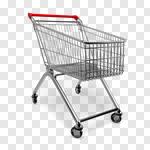 Сlipart Shopping Cart Shopping Cart Luggage Cart Supermarket 3d cut out BillionPhotos