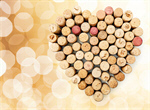 Сlipart Cork Wine Heart Shape Valentine's Day Love   BillionPhotos