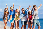 Сlipart people group fun beach students photo  BillionPhotos