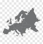 Сlipart Europe Map UK Vector Cartography vector cut out BillionPhotos