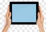 Сlipart tablet hand phone social media photo cut out BillionPhotos