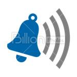 Сlipart alarm alert bell call doorbell vector icon cut out BillionPhotos