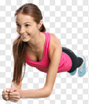 Сlipart abs aerobics app application attractive photo cut out BillionPhotos
