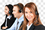 Сlipart Service Customer Service Representative Call Center On The Phone Support photo cut out BillionPhotos