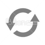 Сlipart recycle eco ecology reload arrow vector icon cut out BillionPhotos